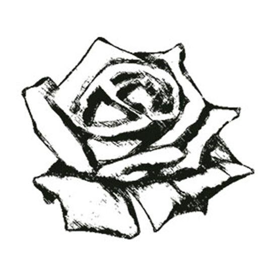 Carimbo-em-Borracha-Botao-de-Rosa-CLP-043---Litoarte
