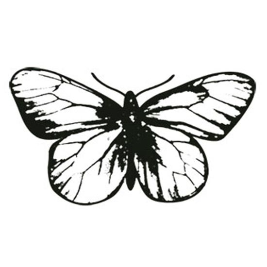 Carimbo-em-Borracha-Borboleta-CLP-052---Litoarte