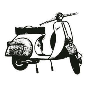 Carimbo-em-Borracha-Moto-Vespa-CLP-062---Litoarte