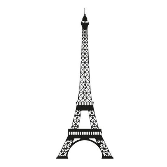 Carimbo-em-Borracha-Torre-Eiffel-CLP-013---Litoarte
