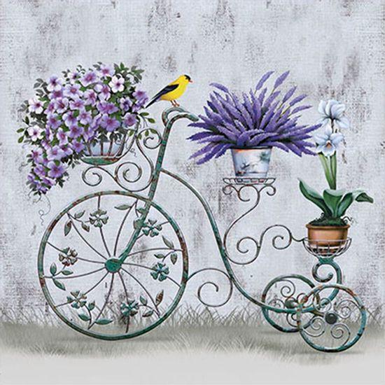 Papel-Transfer-30x30-Bicicleta-e-Flores-PT30-014---Litoarte