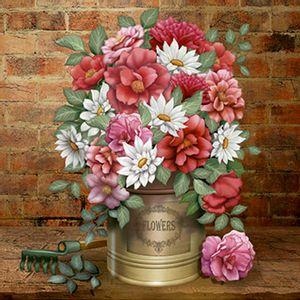 Papel-Decoupage-Arte-Francesa-Flores-na-Lata-AFQ-368---Litoarte