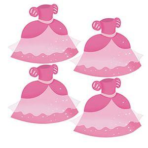 Aplique-Decoupage-em-Papel-e-MDF-Vestido-Rosa-APM3-179---Litoarte