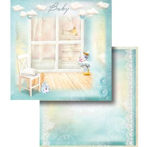 Papel-Scrapbook-Dupla-Face-Baby-Boy-LSCD-355---Litocart