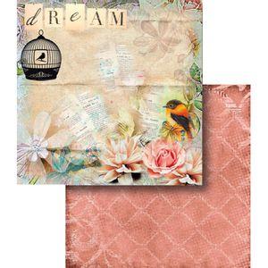 Papel-Scrapbook-Dupla-Face-Dream-e-Gaiola-LSCD-366---Litocart