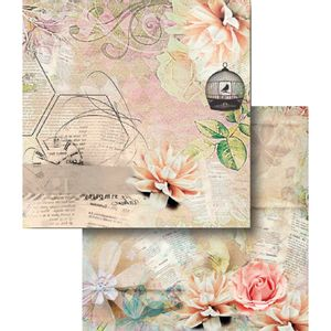 Papel-Scrapbook-Dupla-Face-Gaiola-e-Flores-LSCD-367---Litocart