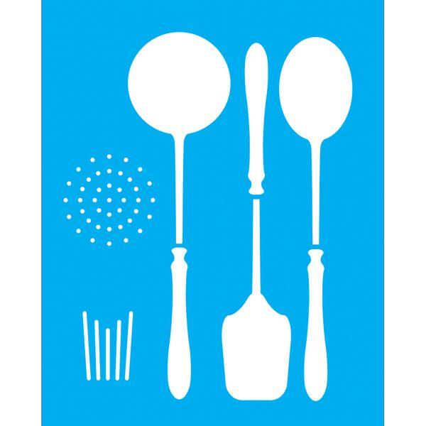 Stencil-para-Pintura-25x20-Talheres-LSG-024---Litocart