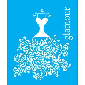 Stencil-para-Pintura-25x20-Glamour-LSG-036---Litocart
