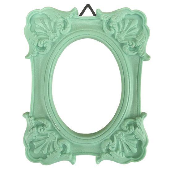 Moldura-Colonial-Cantoneira-e-Oval-10x13-Verde---Resina