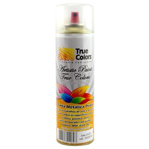 Tinta-Aerossol-Spray-Metalica-Prata-300ml---True-Colors