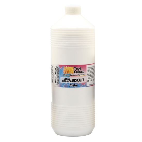 Cola-PVA-Branca-Biscuit-1000ml---True-Colors