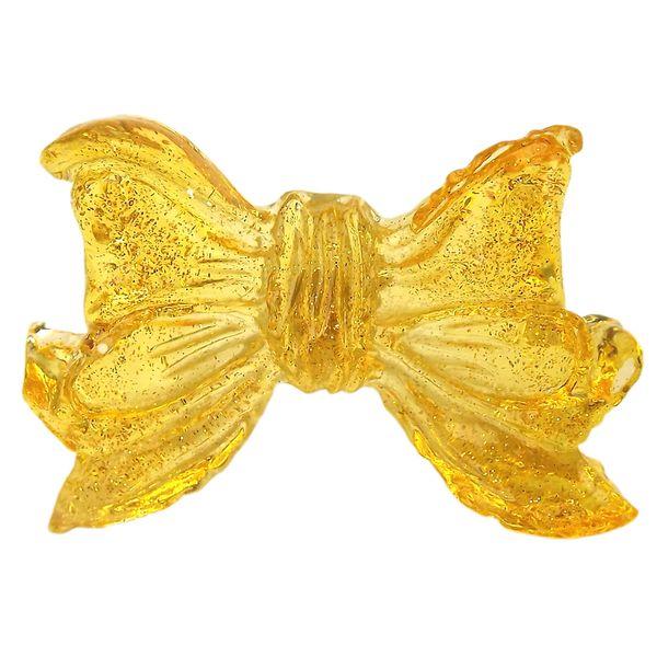 Puxador-para-Gavetas-Laco-Transparente-Amarelo---Resina