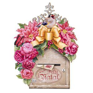 Placa-em-MDF-Natal-Caixa-de-Correio-DHN-003---Litoarte