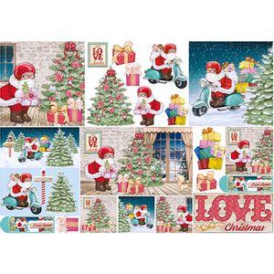 Papel-Decoupage-Natal-Papai-Noel-na-Lambreta-PDN-116---Litoarte