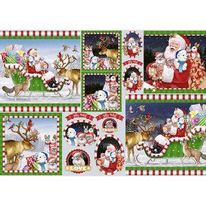 Papel-Decoupage-Natal-Papai-Noel-e-Animais-PDN-119---Litoarte