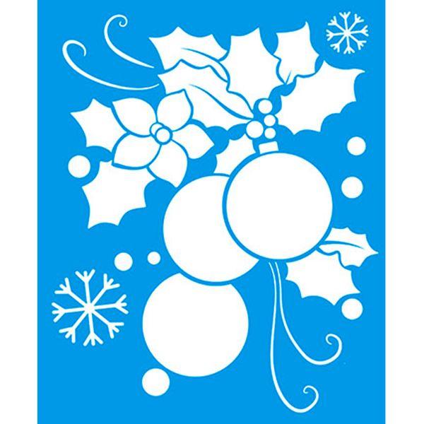 Stencil-Natal-Enfeite-17x21-STMN-010---Litoarte