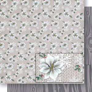 Papel-Scrapbook-Natal-Poinsetias-e-Madeira-SDN-049---Litoarte