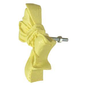 Puxador-para-Gavetas-Laco-Amarelo-Bebe---Resina