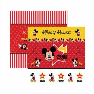 Papel-ScrapFesta-Disney-Mickey-Mouse-Cenario-e-Bandeirolas-SDFD012---Toke-e-Crie