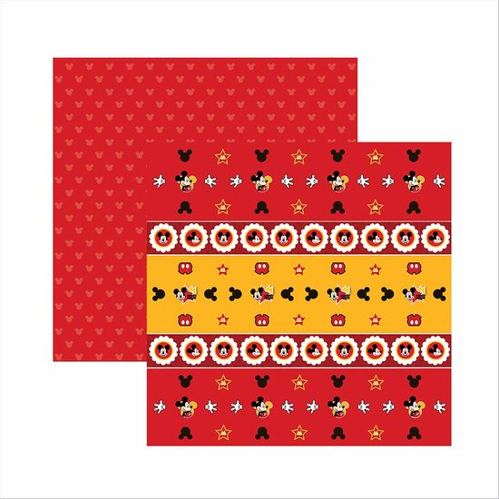 Papel-ScrapFesta-Disney-Mickey-Mouse-Forminhas-e-Toppers-SDFD014---Toke-e-Crie