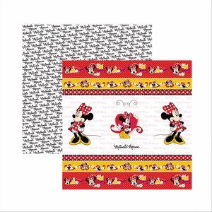 Papel-ScrapFesta-Disney-Minnie-Mouse-Fitas-e-Rotulos-SDFD003---Toke-e-Crie