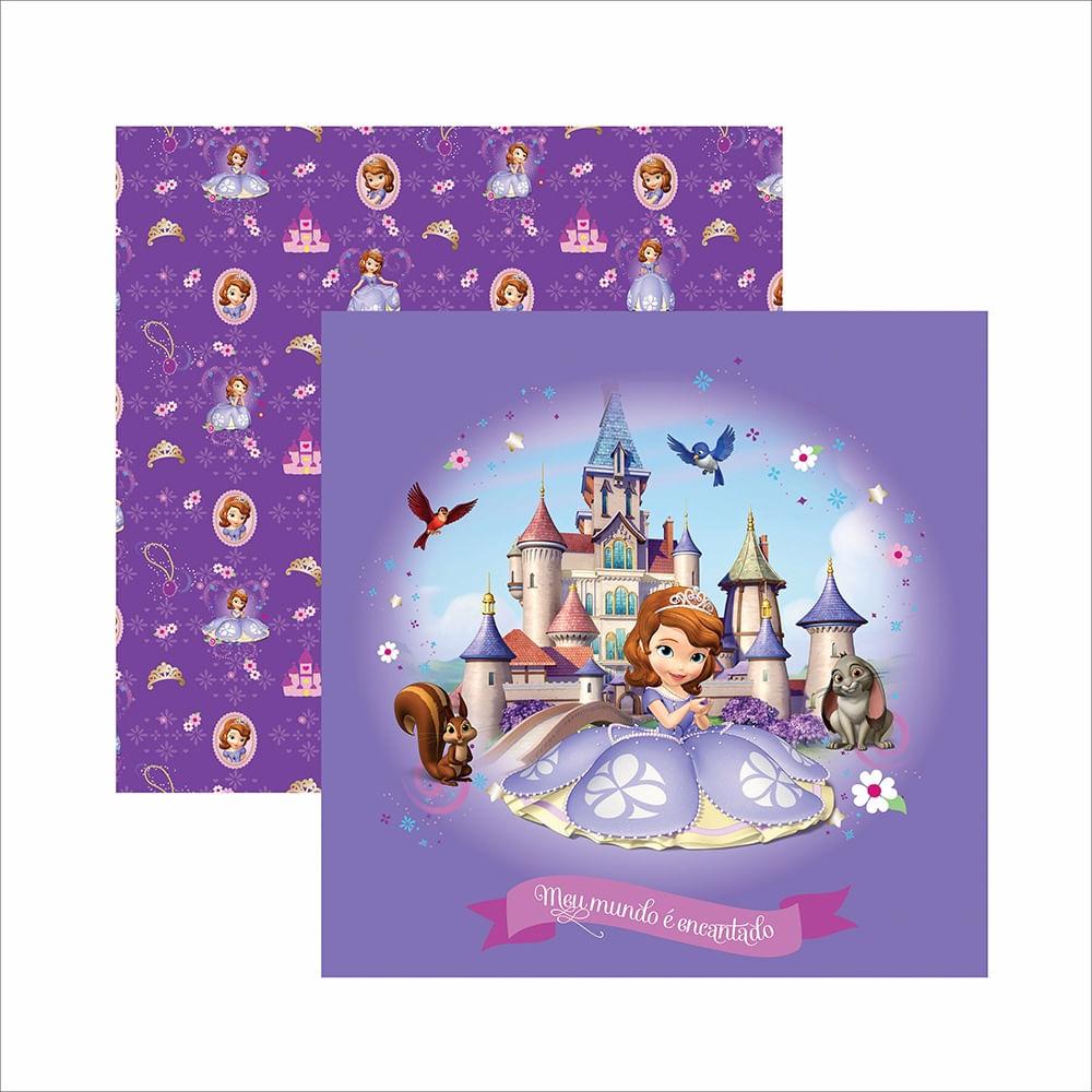 Papel ScrapFesta Disney Princesinha Sofia Guirlanda SDFD047 - Toke e Crie -  PalacioDaArte 313d1826e1155