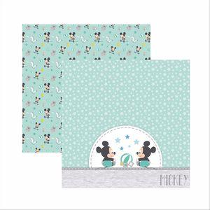 Papel-Scrapbook-Disney-Baby-Mickey-Brinquedos-SDFD038---Toke-e-Crie