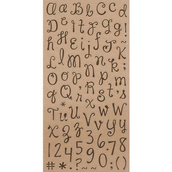 Adesivo-Alfabeto-Dourado-Escrito-a-Mao-Minusculo-AD1809---Toke-e-Crie