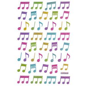 Adesivo-Mini-Puffy-Notas-Musicais-AD1765---Toke-e-Crie