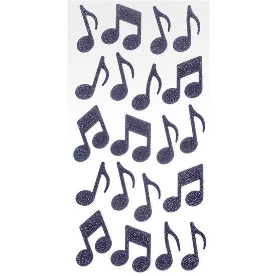 Adesivo-EVA-Puro-Glitter-Notas-Musicais-AD1801---Toke-e-Crie