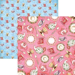 Papel-Scrapbook-Dupla-Face-Cha-da-Tarde-Porcelanas-SDF672---Toke-e-Crie