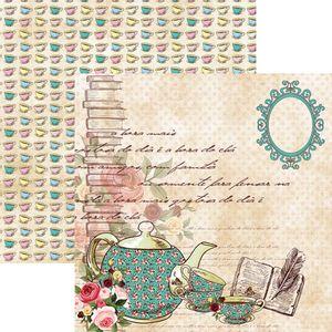 Papel-Scrapbook-Dupla-Face-Hora-do-Cha-Xicaras-e-Bule-SDF663---Toke-e-Crie-By-Flavia-Terzi