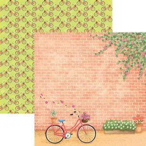 Papel-Scrapbook-Dupla-Face-Passeio-no-Parque-Bicicleta-e-Canteiro-SDF679---Toke-e-Crie