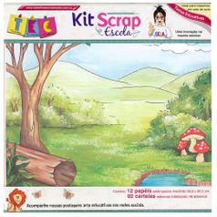 Kit-Scrap-Escola-KBSE01---Toke-e-Crie