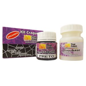 Kit-Craquele-Colorido-2-potes--verniz-base-e-verniz-craquele--55ml---True-Colors