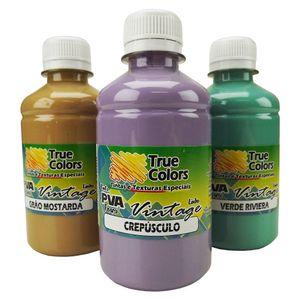 Tinta-PVA-para-Artesanato-Fosca-250ml-Linha-Vintage---True-Colors