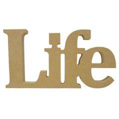 Recorte-Enfeite-de-Mesa-Life-23x12cm---Madeira-MDF