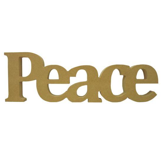 Recorte-Enfeite-de-Mesa-Peace-37x12cm---Madeira-MDF