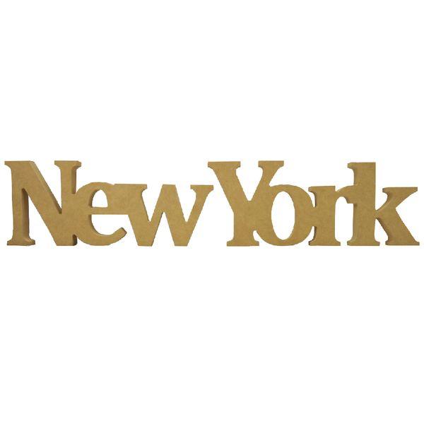 Recorte-Enfeite-de-Mesa-New-York-60x12cm---Madeira-MDF