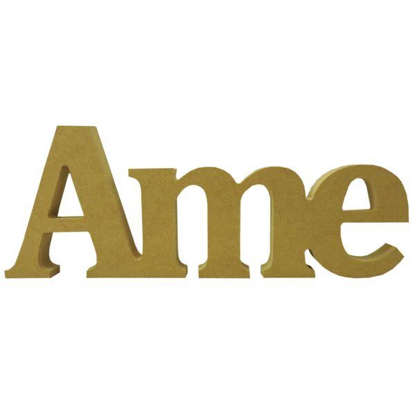 Recorte-Enfeite-de-Mesa-Ame-32x12cm---Madeira-MDF