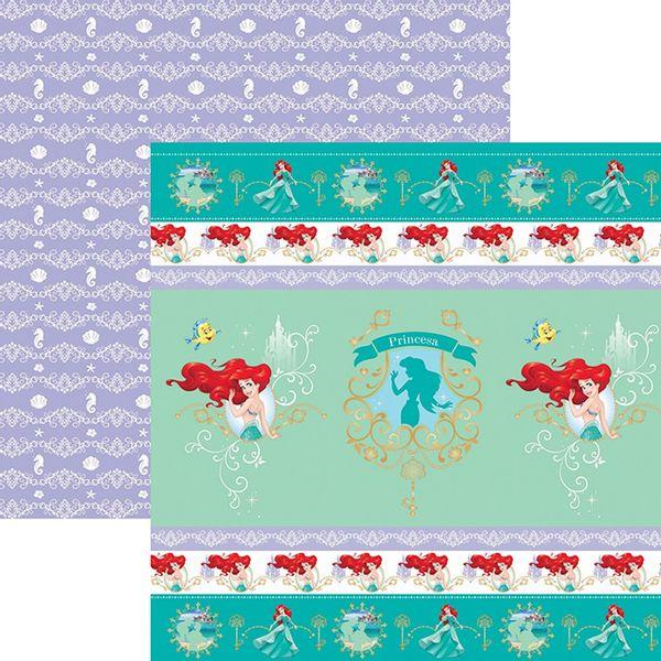 Papel-ScrapFesta-Disney-Princesa-Ariel-Fitas-e-Rotulos-SDFD083---Toke-e-Crie