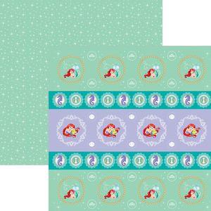 Papel-ScrapFesta-Disney-Princesa-Ariel-Forminhas-e-Toppers-SDFD084---Toke-e-Crie