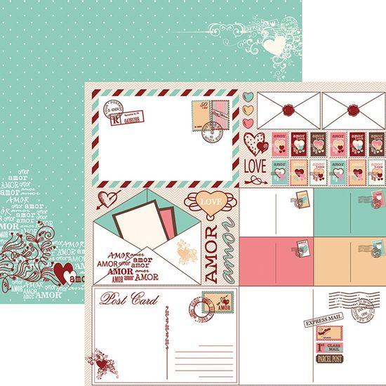 Papel-Scrapbook-O-Amor-Esta-no-Ar-Recortes-SDF700---Toke-e-Crie-By-Flavia-Terzi