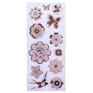 Adesivo-3D-Floral-AD1813---Toke-e-Crie
