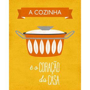 Placa-Decorativa-A-Cozinha-24x19cm-DHPM-137---Litoarte