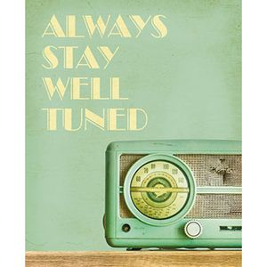 Placa-Decorativa-Always-Stay-Well-Tuned-24x19cm-DHPM-142---Litoarte