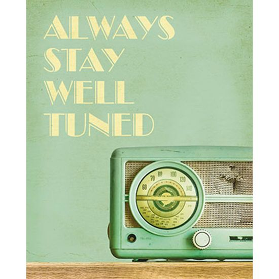Placa-Decorativa-Always-Stay-Well-Tuned-24x19cm-DHPM-142---Litoarte