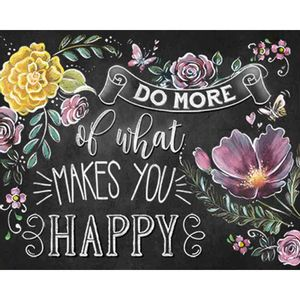 Placa-Decorativa-Do-More-Of-What-Makes-You-Happy-24x19cm-DHPM-189---Litoarte
