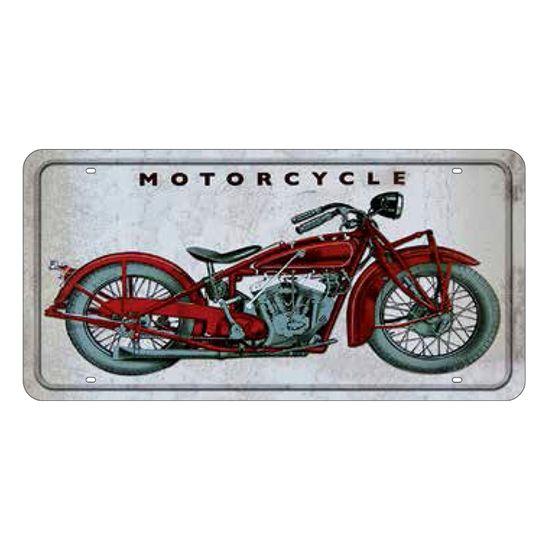 Placa-Decorativa-15x30cm-Motorcycle-LPD-024---Litocart