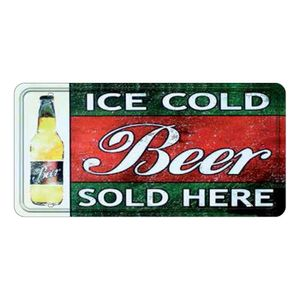 Placa-Decorativa-15x30cm-Ice-Cold-Beer-Sold-Here-LPD-031---Litocart